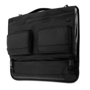 SwissGear Getaway Full-Sized Men's and Women's Carry-On Garment Travel Luggage, Black