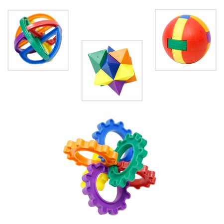 Plastic Puzzle Ball (Puzzle Ball Solution)