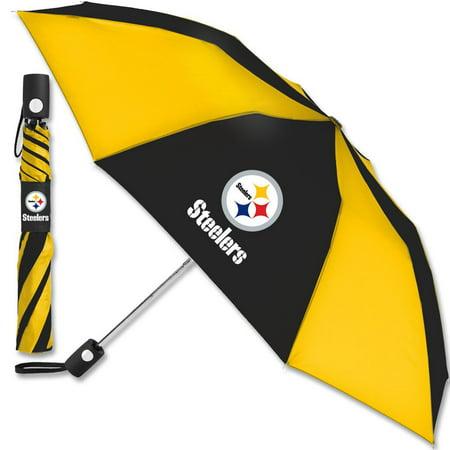 Pittsburgh Steelers WinCraft 42'' Folding Umbrella - No