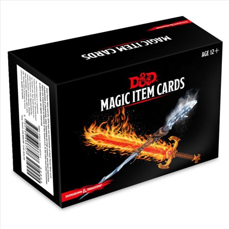 Dungeons & Dragons Spellbook Cards: Magic Items (D&d