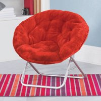 Mainstays Faux Fur Saucer Chair, Available in Multiple Colors