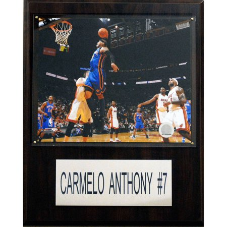 C Collectables Nba 12X15 Carmelo Anthony New York Knicks Player Plaque