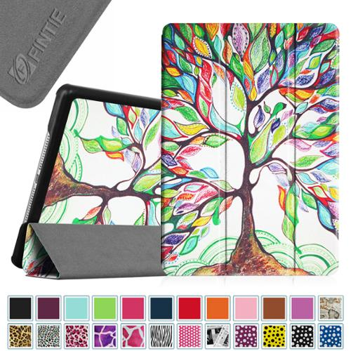 Fintie iPad Air 2 Case - SlimShell Cover with Auto Wake / Sleep for iPad Air 2, Love Tree