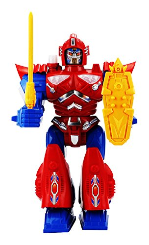 Blaze Dragon Robot Battery Operated Toy Figure w  Walking Action, Flashing Lights, Sounds by Velocity Toys
