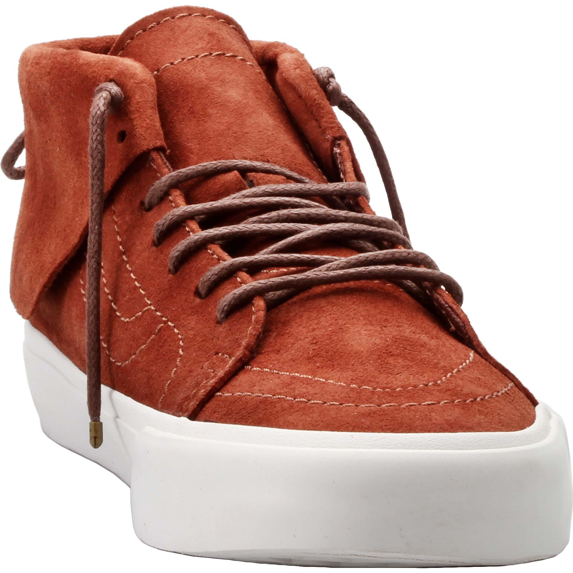 ca0a329a38 Vans - Vans SK8 Hi Mid Moc CA Pig Suede Tortoise Shell Men s Skate Shoes  Size 11 - Walmart.com