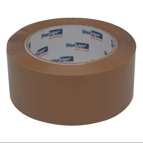 SHURTAPE AP 201 Carton Sealing Tape, 48mm x 100m, Tan, PK36
