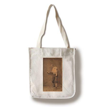 Jims Bag (Washington Statesmen - Jim Whitney - Baseball Card (100% Cotton Tote Bag - Reusable))