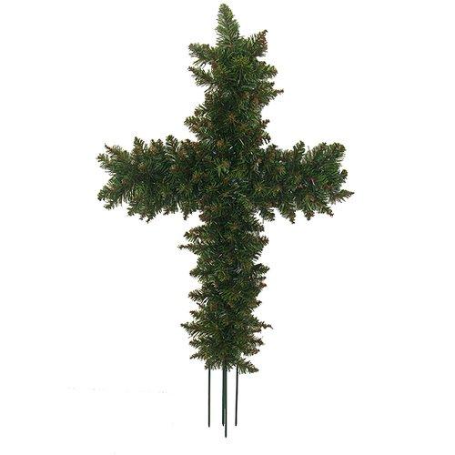 Darice 1'10'' Pine Artificial Cross Shape Swag