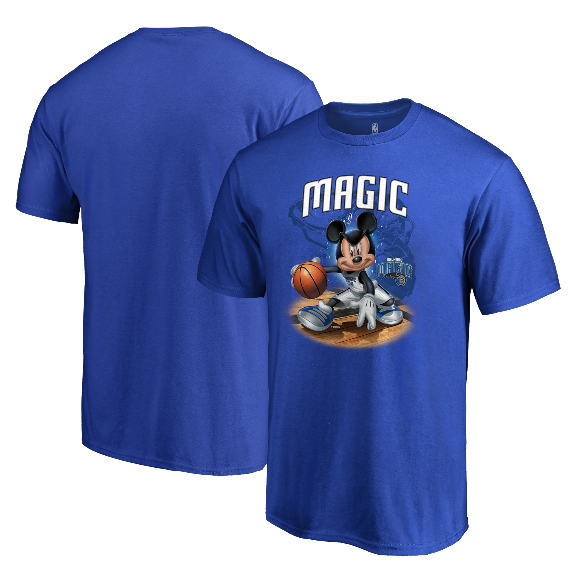 Orlando Magic Fanatics Branded Disney NBA All-Star T-Shirt - Blue