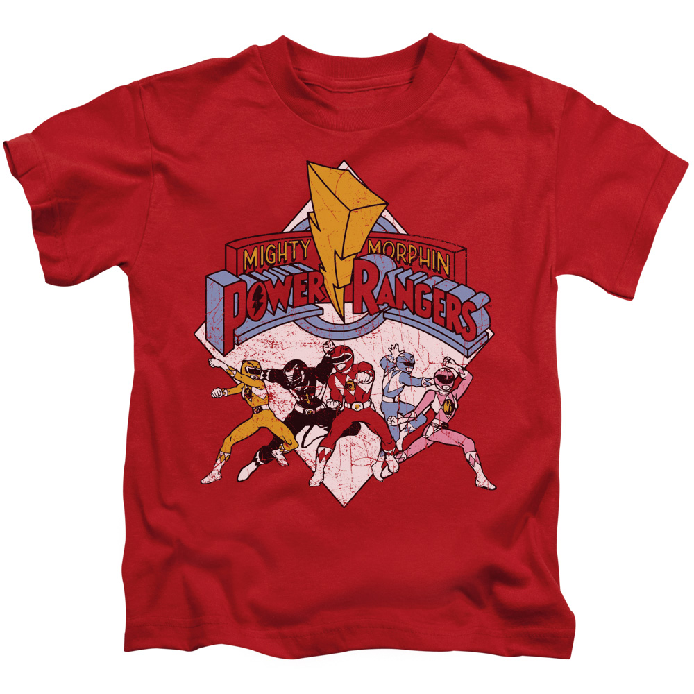 Power Rangers/Retro Rangers S/S Juvenile 18/1 Red   Pwr104