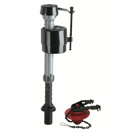 Fluidmaster 400CR Universal Toilet Fill Valve and 2