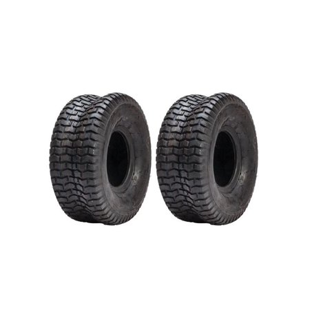 (2) 15x6x6 Turf Tires for John Deere L100 105 110 Front
