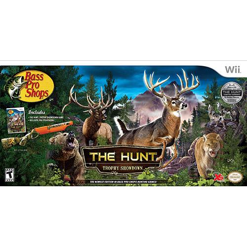Bass Pro Shops-The Hunt Bundle (Wii)