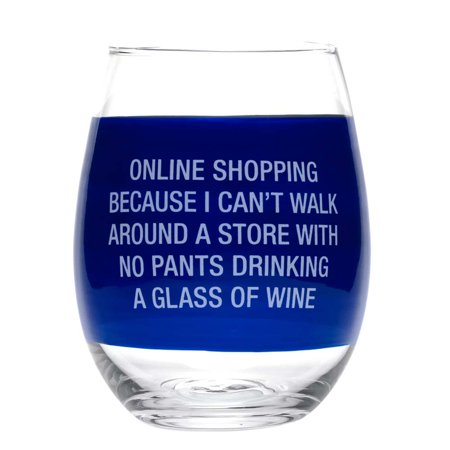 About Face Designs Wine Glass- Online (Shopping For Glasses Online)
