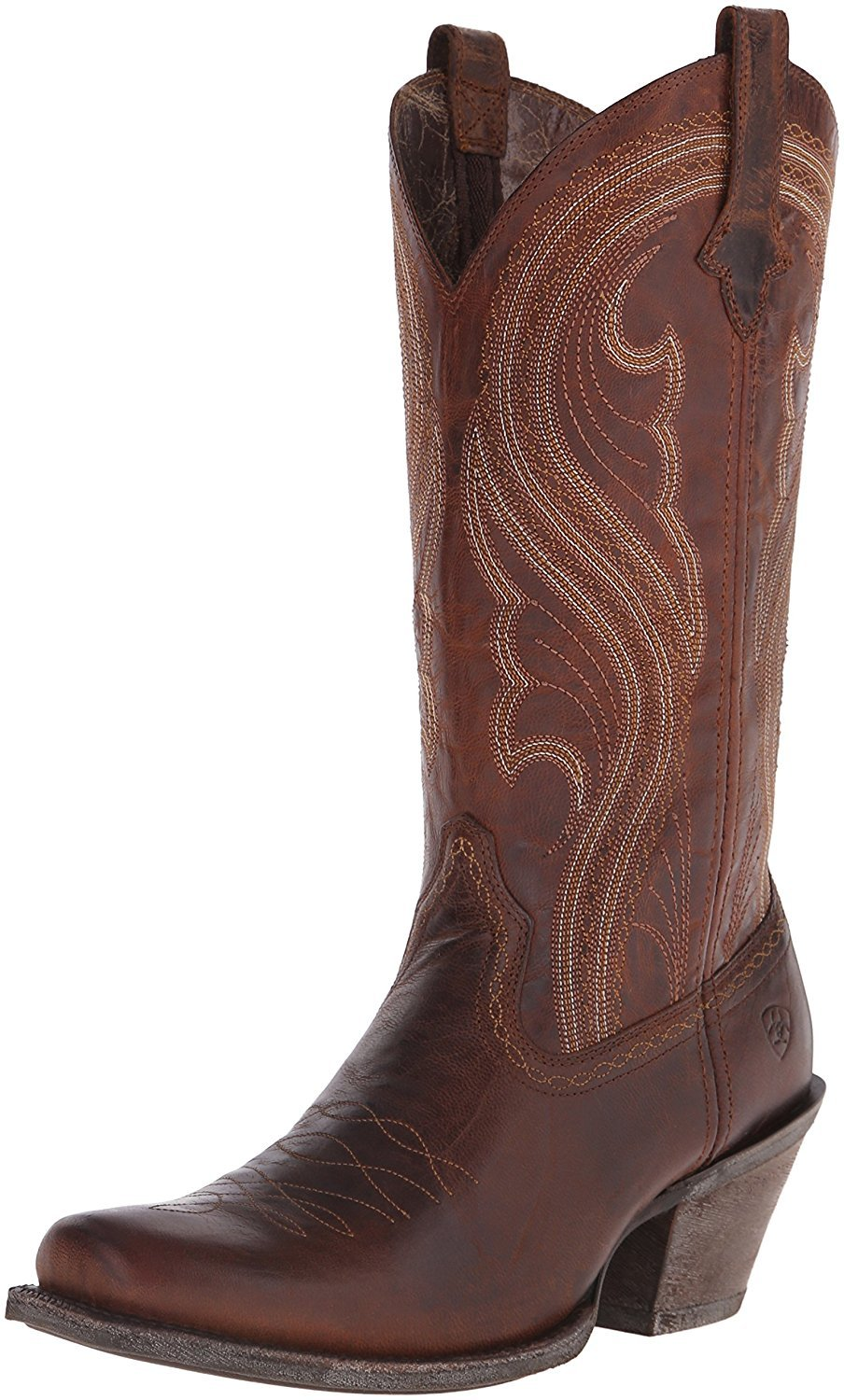 "Ariat 10016357 Lively 12"" Pull On Cowboy Boot by Ariat Women's"