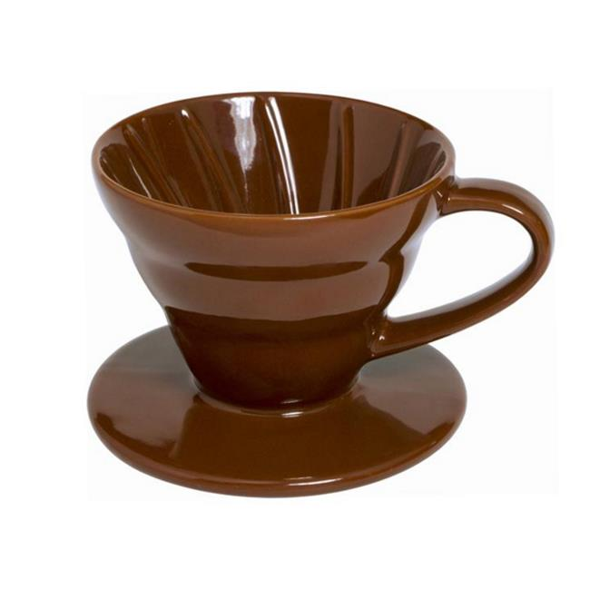 Supreme Housewares 71257 Ceramic 1-2 Cup Coffee Dripper, Brown - Pack of 24