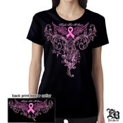 Cotton Elite Breed Ladies Fight Cancer T-Shirt