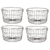 Mainstays Medium Round Wire Copper Basket - 4 Pack
