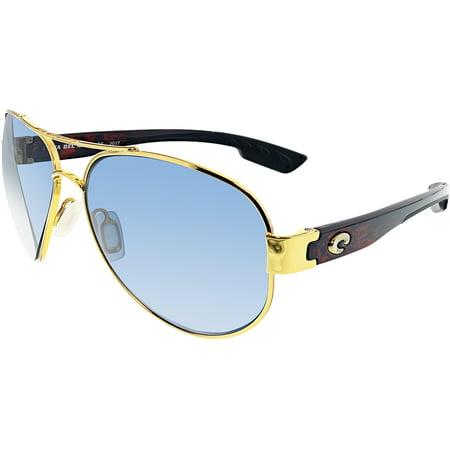 ad9f9c84994 Costa Del Mar - Costa Del Mar Polarized South Point SO26OGP Gold Aviator  Sunglasses - Walmart.com