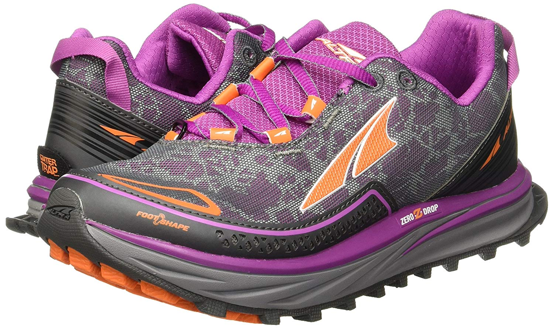 Altra Altra Women S Timp Trail Zero Drop Lace Up Athletic Shoes Orchid 5 5m Walmart Com Walmart Com