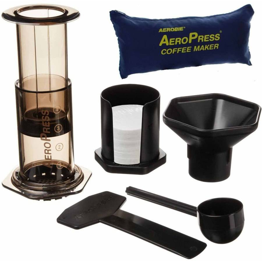Image of Aerobie Aeropress Coffee Maker with Bag