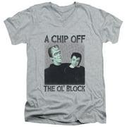 The Munsters Chip Mens V-Neck Shirt
