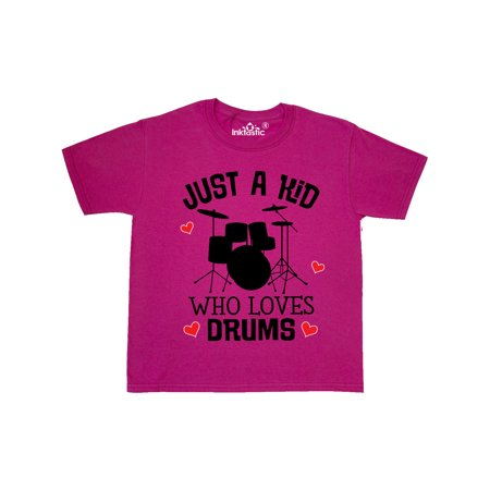 Future Drummer Kid Loves Drums Youth T-Shirt