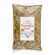 Jiva Organics Raw Organic Pumpkin Seeds (Pepitas), 2 Lb