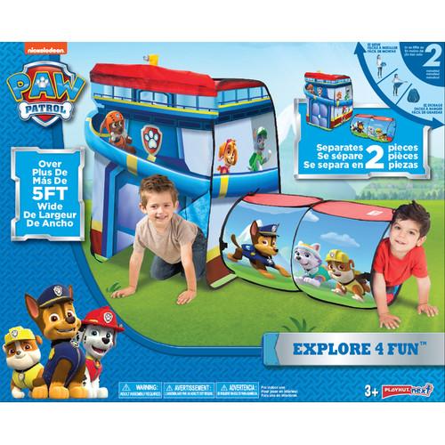 Playhut Paw Patrol Explore 4 Fun Play Tent