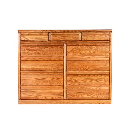 Forest Bullnose Eleven Drawer Dresser D