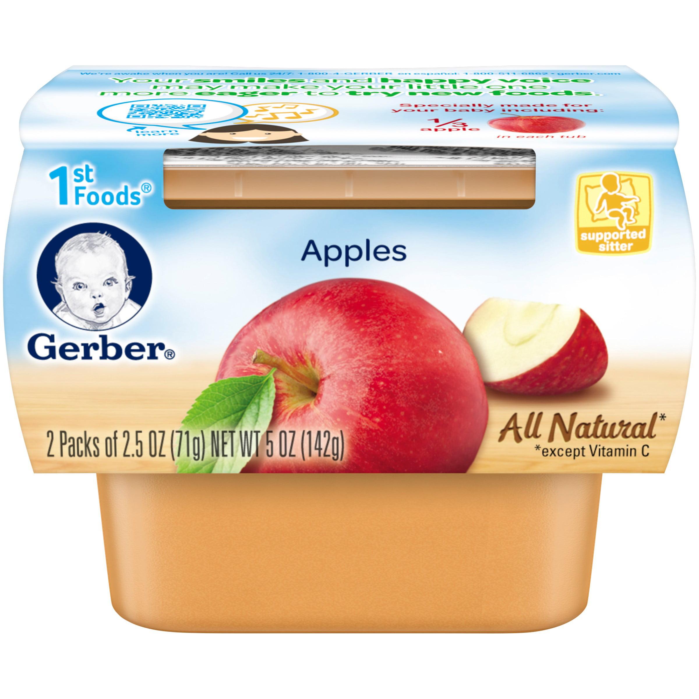 Baby Food Gerber Ingredients