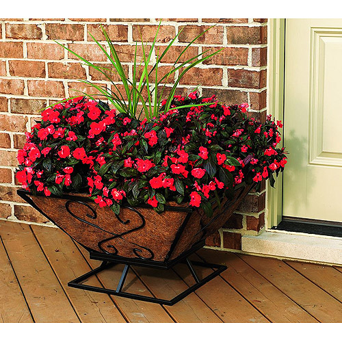 Large Square Floor Planter Walmart Com