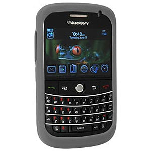 Blackberry Case, Silicone Rubberized Skin Back Case Anti Scratch Gripped Back Cover for BlackBerry Bold