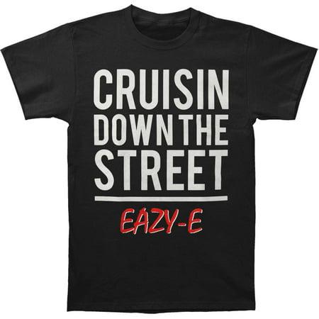 Eazy E Men's  Cruisin Down The Street Tee T-shirt Black
