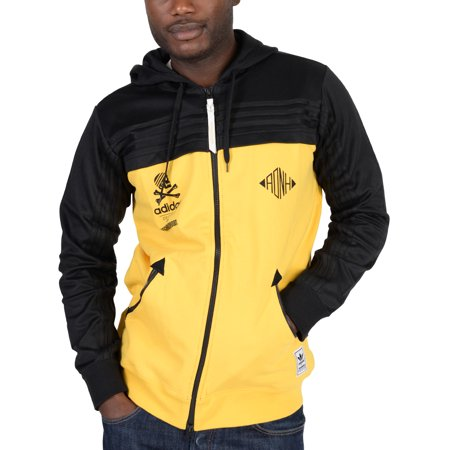 Adidas Mens Adidas Originals Neighborhood Zip Up Hoodie Yellow