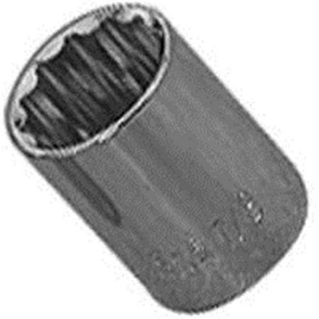 21 Piece 12 Point Socket (MT6531057 0.5 in. 12 Point Drive Standard Socket, 21 mm )