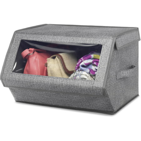 Whitmor Stackable Window Box, Crosshatch (Fabric Comfortable Stackable)