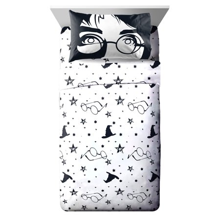 Harry Potter Always 3 Piece Twin Sheet (3 Piece Sweet Iron)
