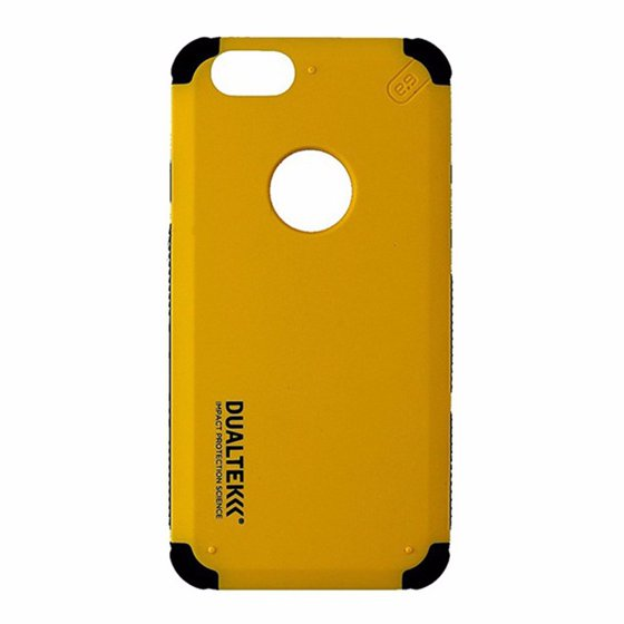 new style d7690 bc329 PureGear Dualtek Impact Protection Case for Apple iPhone 6/6S Yellow and  Black