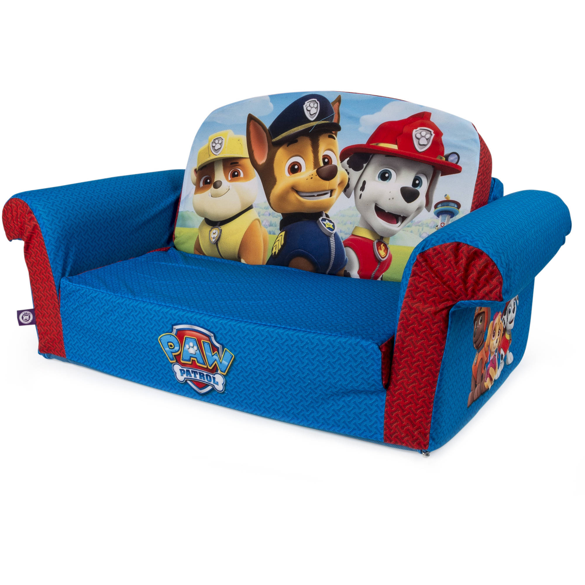 Marshmallow Furniture Children S 2 In 1 Flip Open Foam Sofa Nickelodeon Paw Patrol By Spin Master