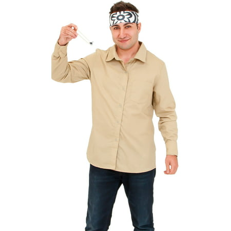 Men's Karate Master Costume, Karate Master Halloween Costume (Watch Ink Master Halloween)