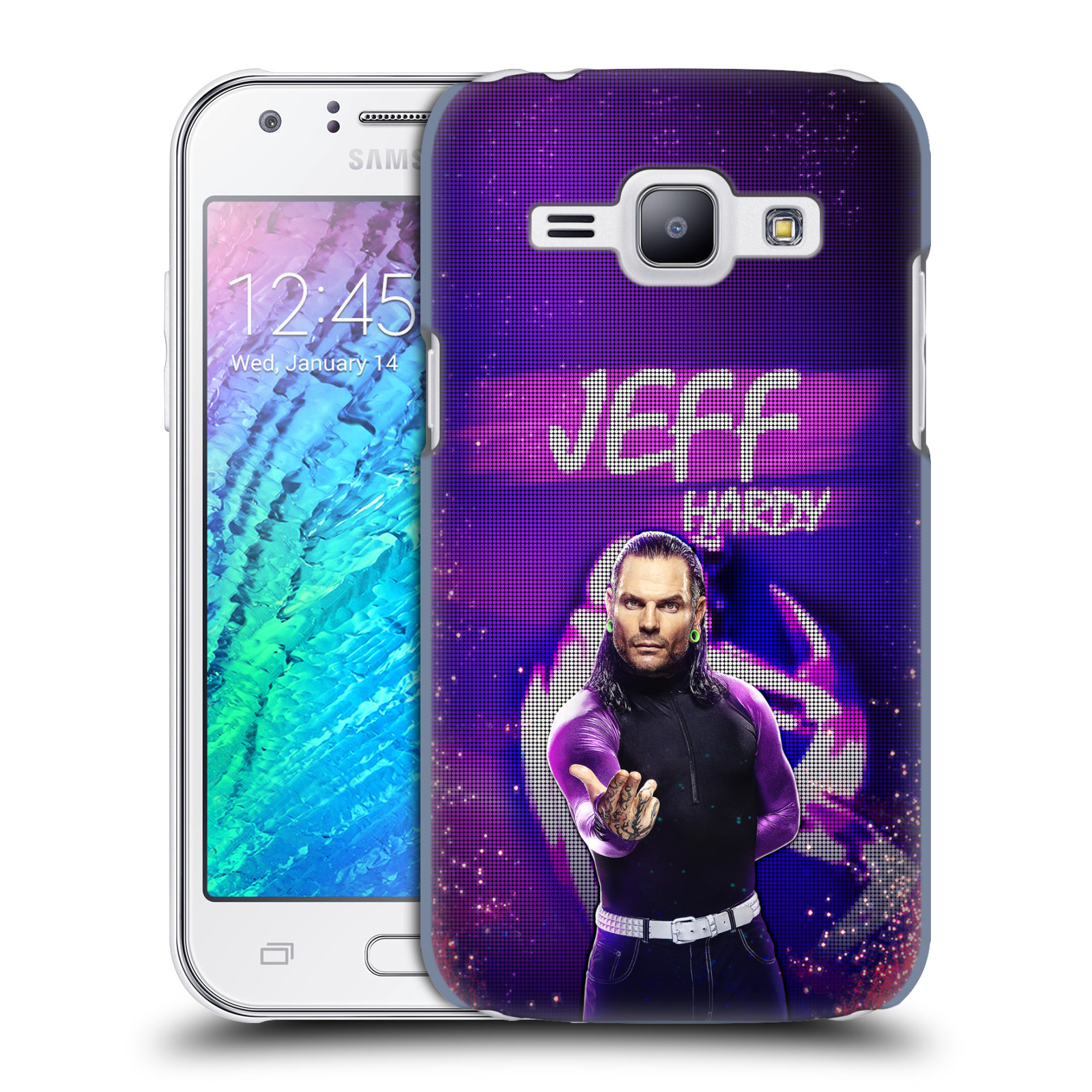 OFFICIAL WWE JEFF HARDY HARD BACK CASE FOR SAMSUNG PHONES 4