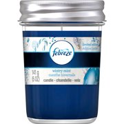 Febreze Wintry Mint Air Freshener Candle, 5 oz
