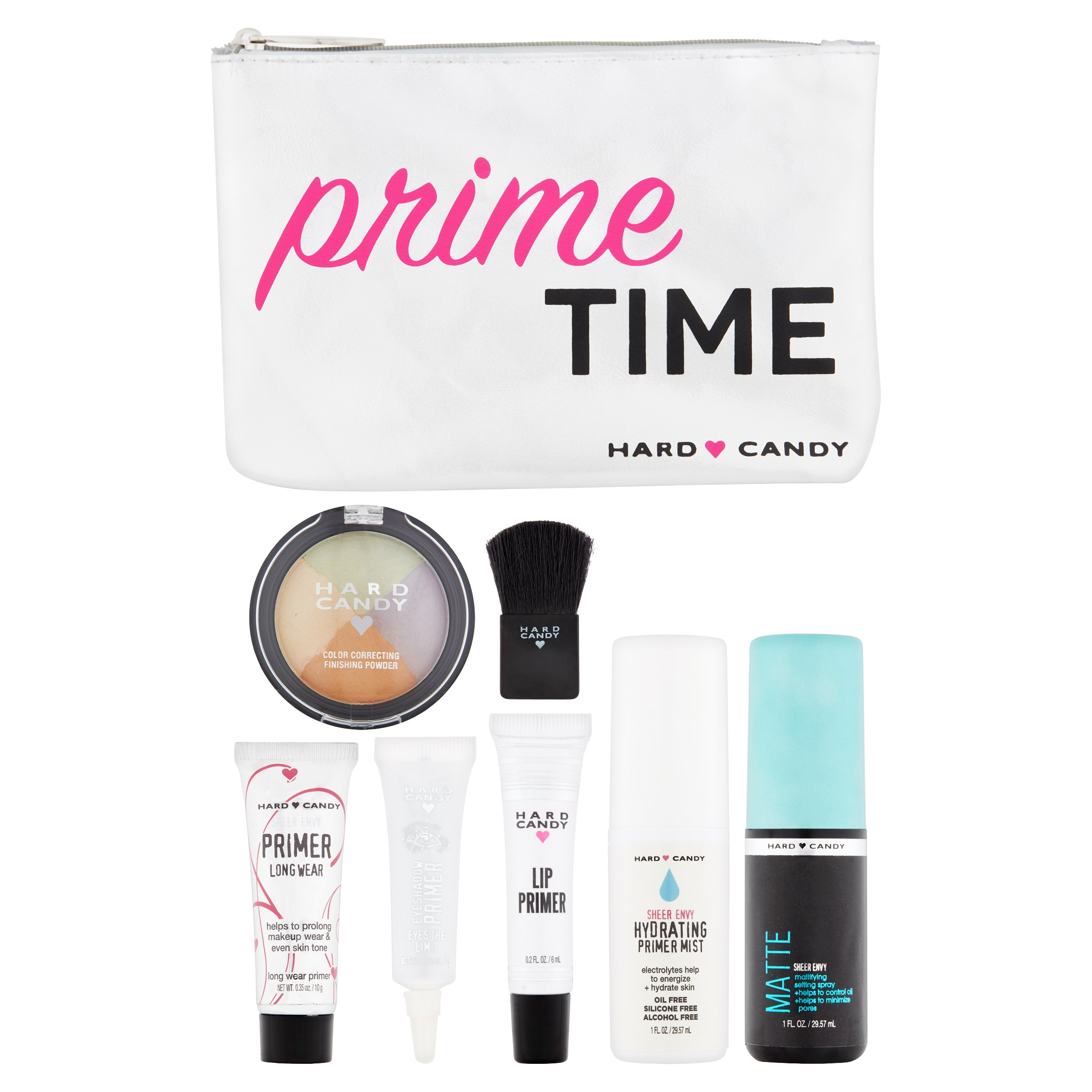 Hard Candy Prime and Perfect Makeup Kit, 11 pc