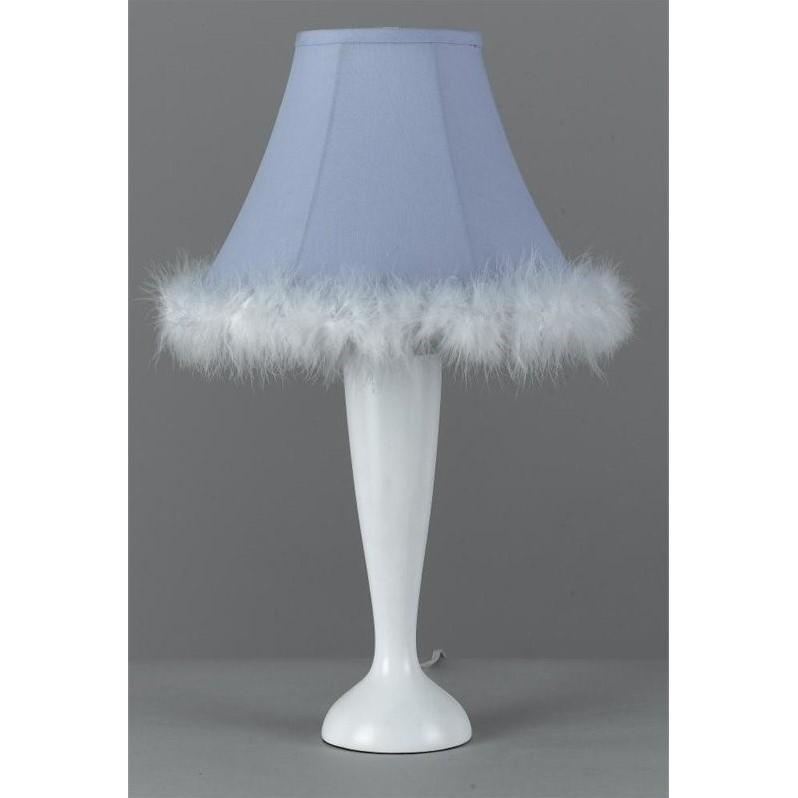 Cal Lighting Maid Lamp in White