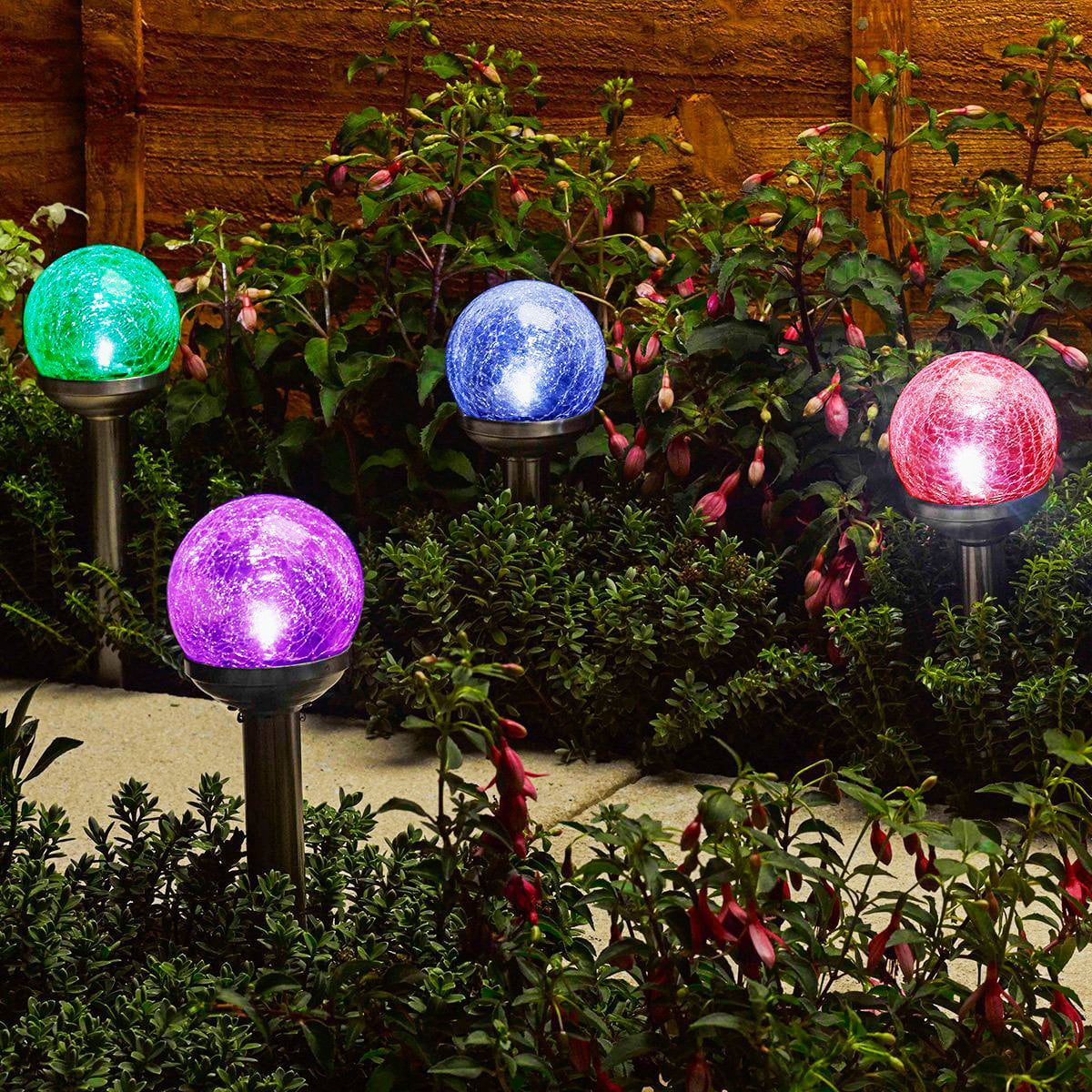 Solar Outdoor Lighting At Lowes Com