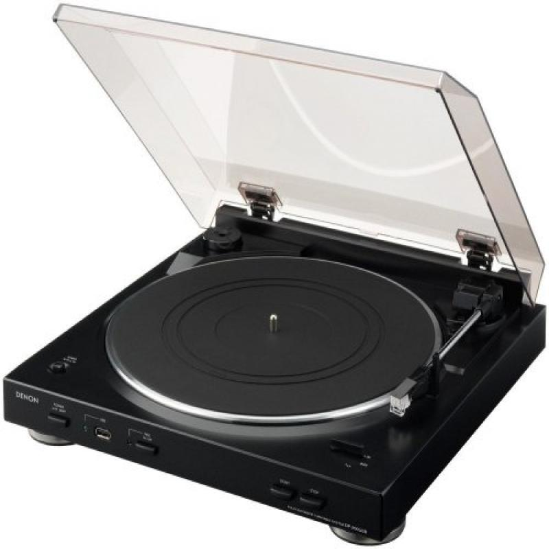 Denon DP-200USB Fully Automatic Turntable with MP3 Encoder by Denon