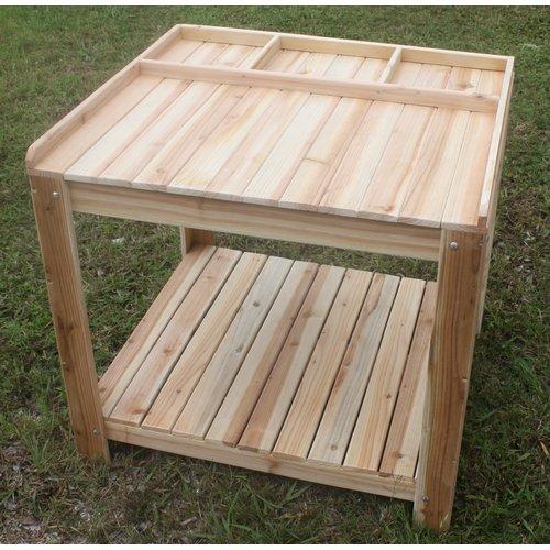 Cedar Creek Woodshop Potting Bench