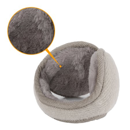 Warm Foldable Winter Knit Earmuffs for Women Men Khaki - image 2 de 5
