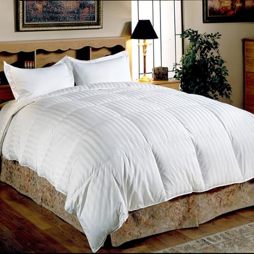 Hotel Grand Oversized 500 Thread Count Medium Warmth Siberian White Down Comforter King